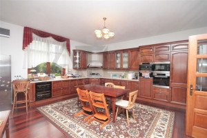 Updated kitchen - For Rent: Large Representative 8-bedroom 700 sq.m Villa Prague 6 - Nebusice