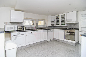 Updated kitchen - For Rent: 3-bedroom Furnished Apartment - Prague 1 - Stare Mesto, Reznicka Street