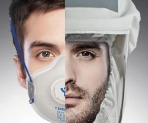 Pánové, pokud se důkladně neoholíte, tak je vám respirátor k ničemu