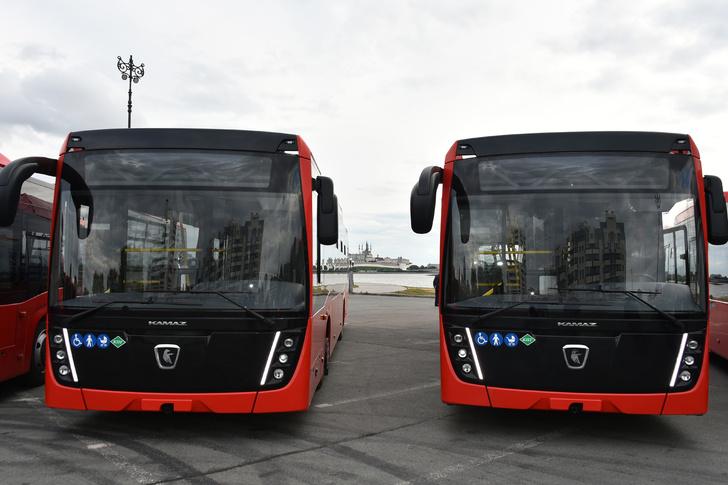 KAMAZ předal šarži plynových městských autobusů do hlavního města Tatarstánu
