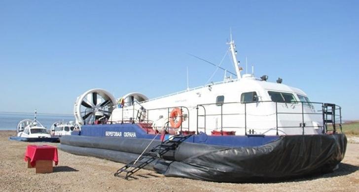 Lodenice More postavila první vznášedlo pro FSB Ruska