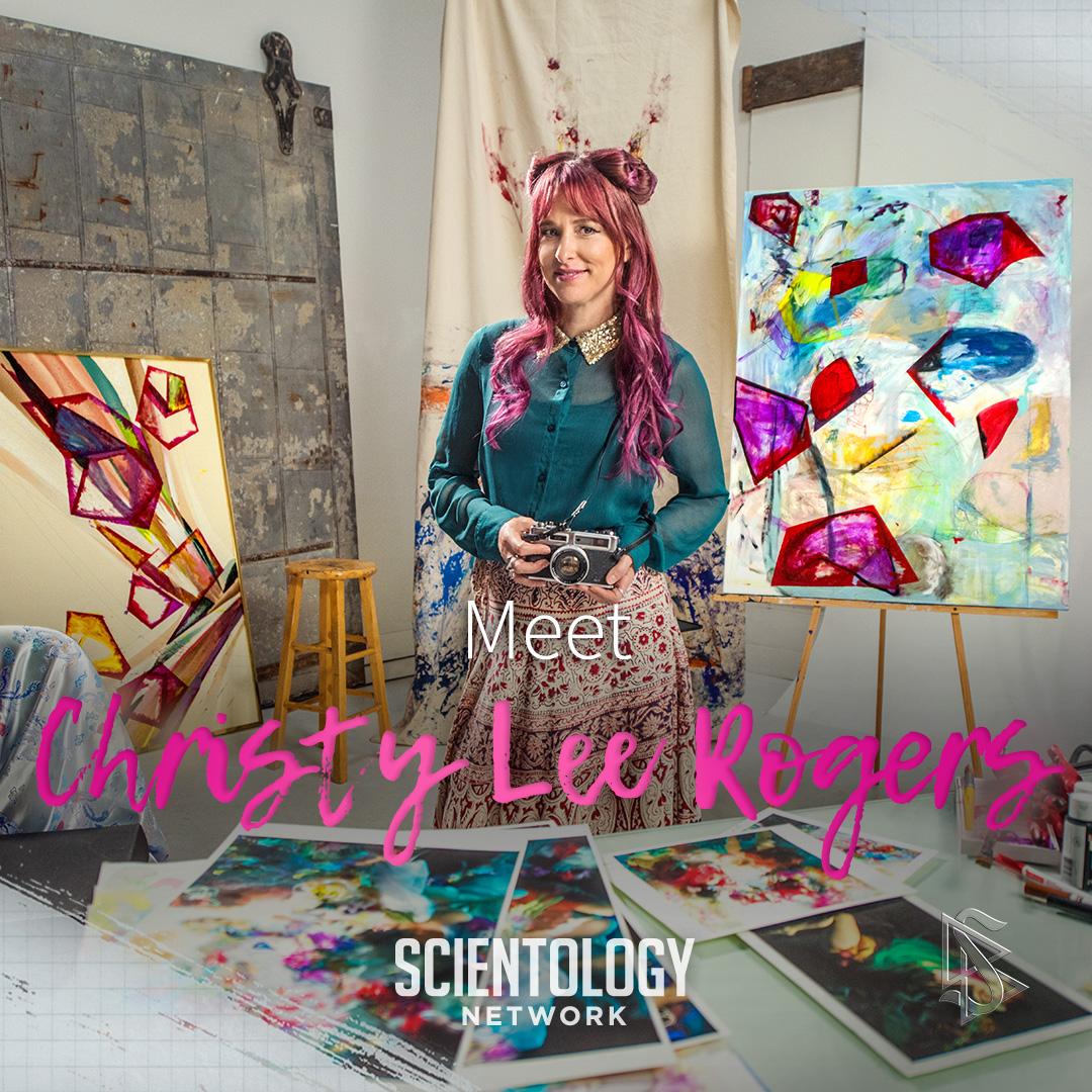Christy Lee Rogers - scientologie umělci
