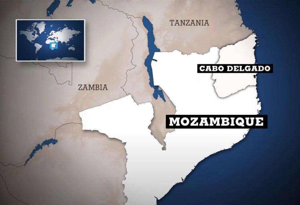 severní Mosambik